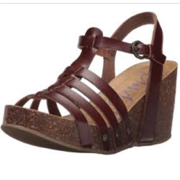 1f92c7660381e6 Blowfish Shoes - Blowfish wedge sandals